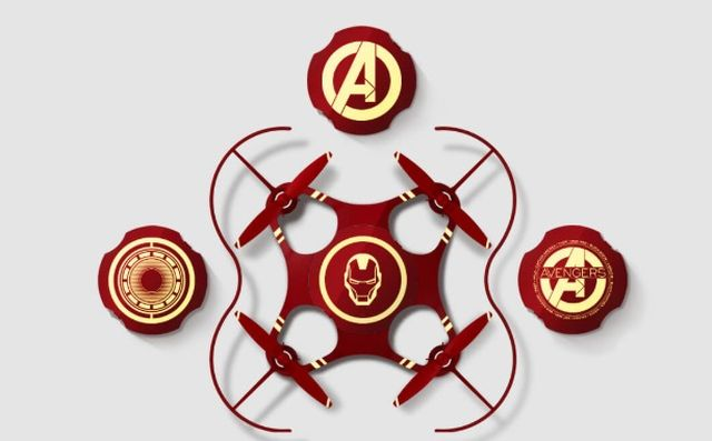 Xiaomi Jellyfish Mini Aircraft Iron Man Edition